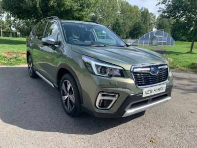 Subaru Forester 2.0i e-Boxer XE Premium 5dr Lineartronic Estate Hybrid Green at Adams Brothers Isuzu Aylesbury