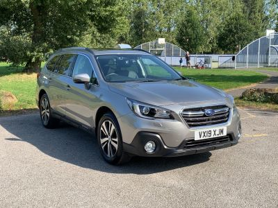 Subaru Outback 2.5i SE Premium 5dr Lineartronic Estate Petrol Gold at Adams Brothers Isuzu Aylesbury