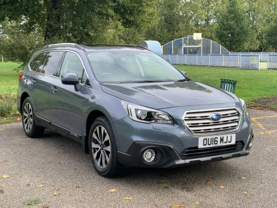 Subaru Outback 2.5i SE Premium 5dr Lineartronic Estate Petrol Grey at Adams Brothers Isuzu Aylesbury