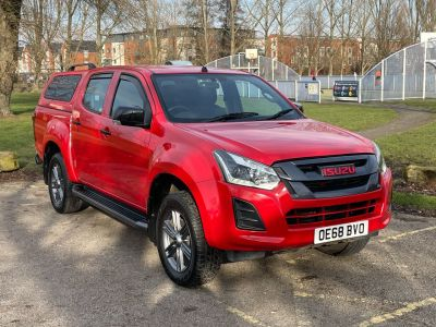 Isuzu D-max 1.9 Fury Double Cab 4x4 Auto Pick Up Diesel Magma Red at Adams Brothers Isuzu Aylesbury