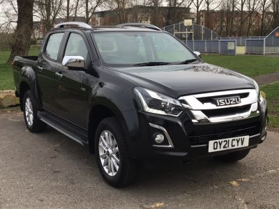 Isuzu D-max 1.9 Utah Pick Up Diesel Black at Adams Brothers Isuzu Aylesbury