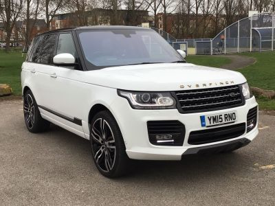 Land Rover Range Rover 4.4 SDV8 Autobiography 4dr Auto Estate Diesel White at Adams Brothers Isuzu Aylesbury