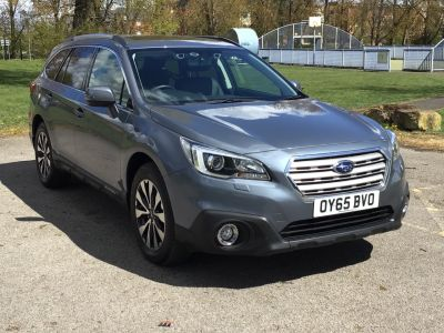 Subaru Outback 2.0D SE Premium 5dr Lineartronic Estate Diesel Platinum Grey at Adams Brothers Isuzu Aylesbury