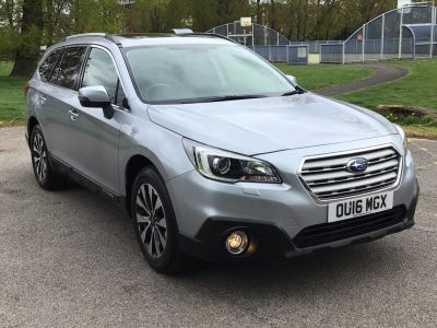 Subaru Outback 2.5i SE Premium 5dr Lineartronic Estate Petrol Ice Silver Metallic at Adams Brothers Isuzu Aylesbury