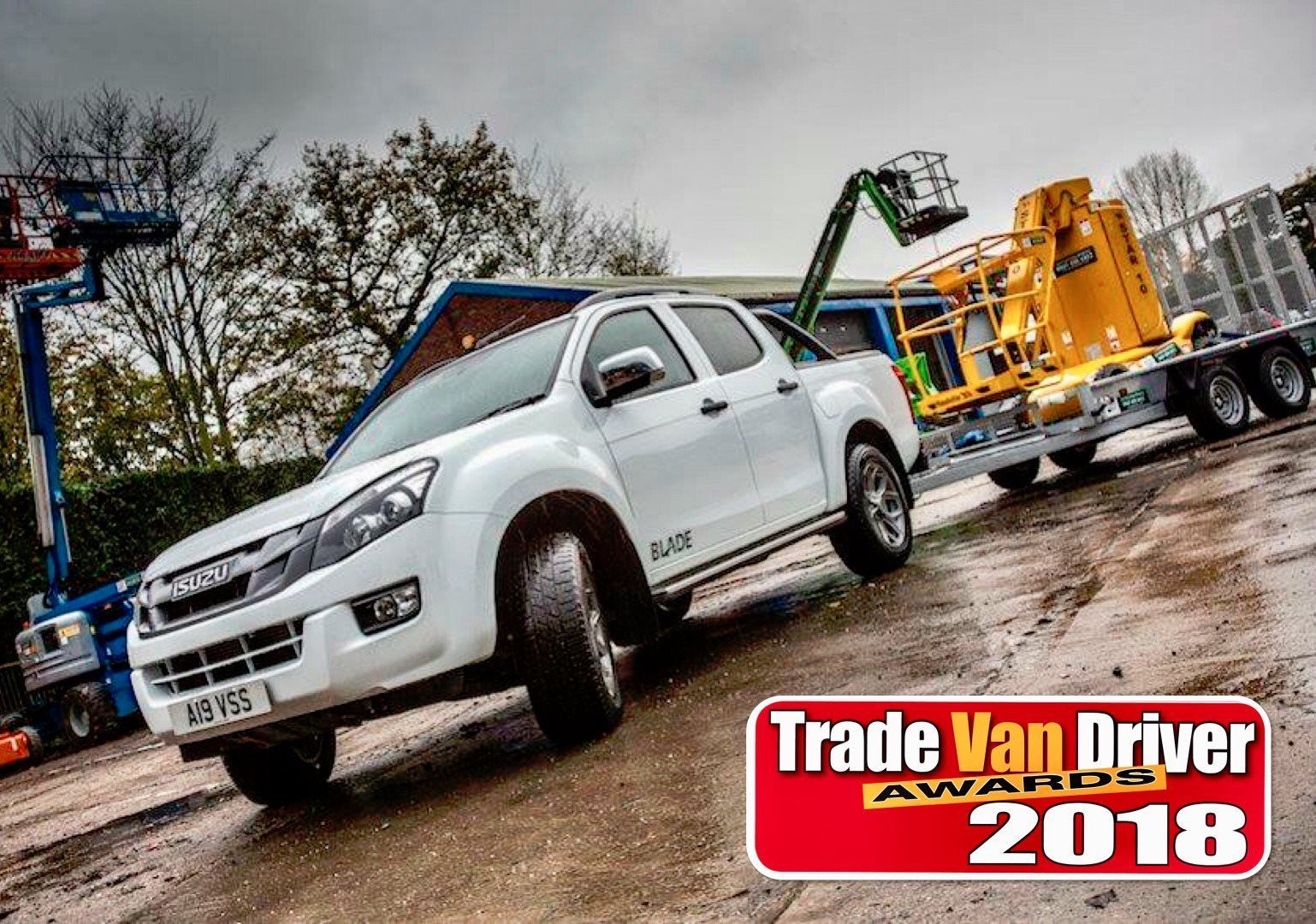 AWARD WINNING D-MAX TRIUMPHS AT 2018 TRADE VAN DRIVER AWARDS