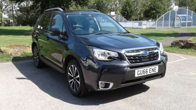 Subaru Forester 2.0 XT 5dr Lineartronic Estate Petrol Grey at Adams Brothers Isuzu Aylesbury